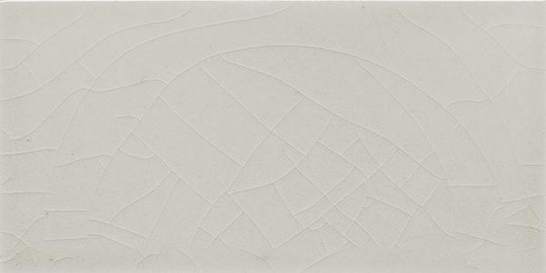Plain glazed wall tile F 10.66 H, Hellgrau warm, Halbformat
