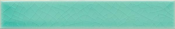 Carreau de mur lisses émaillés  F 10.5 Ri, Türkis grünlich, Riemchen