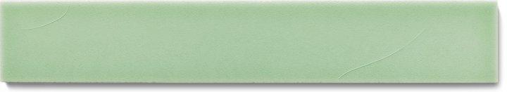Carreau de mur lisses émaillés F 10.13 Ri, Graugrün, baguette