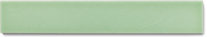 Plain glazed wall tile F 10.13 Ri, Graugrün, listello