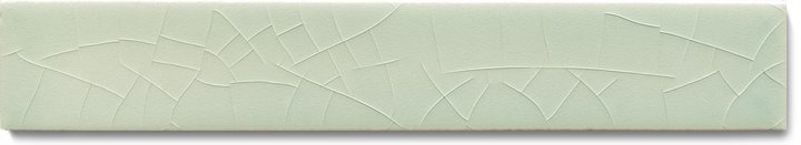 Plain glazed wall tile F 10.16 Ri, Hellgrau, listello