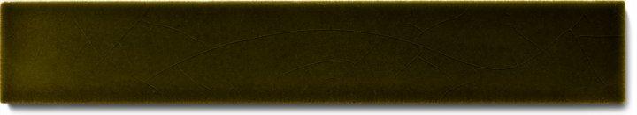 Carreau de mur lisses émaillés F 10.29 Ri, Olivgrün, baguette