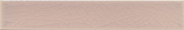 Plain glazed wall tile F 10.31 Ri, Hellgrau-violett, Riemchen