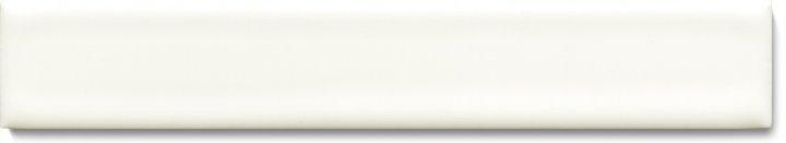 Carreau de mur lisses émaillés F 10.48 Ri, Weiß grünlich deckend, baguette