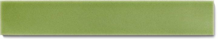 Carreau de mur lisses émaillés F 10.63 Ri, Pastell graugrün, baguette