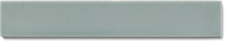 Plain glazed wall tile F 10.65 Ri, Graublau dunkel, listello
