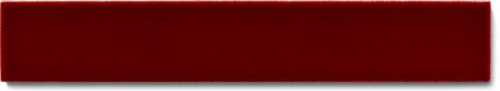 Carreau de mur lisses émaillés F 10.400 Ri, Krapplack dunkel, baguette