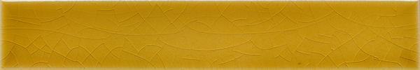 Plain glazed wall tile F 10.575 Ri, Biergelb, Riemchen