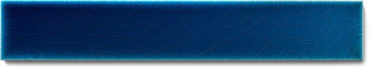 Plain glazed wall tile F 10.620 Ri, Blau, listello