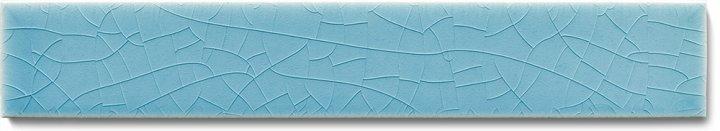 Plain glazed wall tile F 10.622 Ri, Blaugrau hell, listello