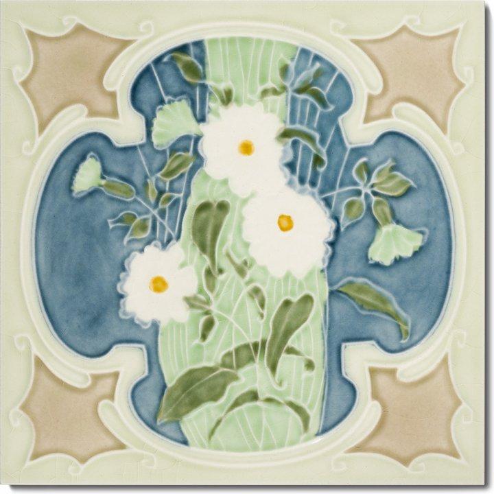 Art Nouveau tile F 51 V2