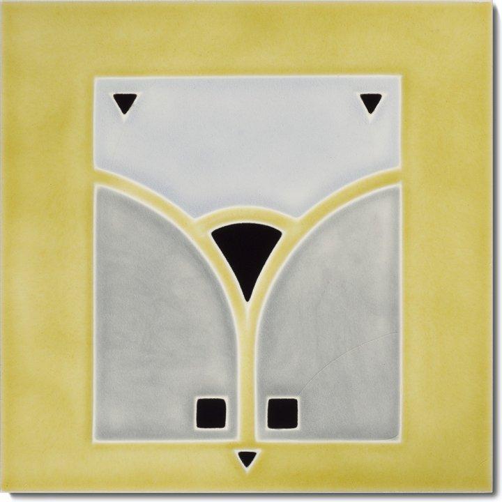 Art Nouveau tile F 65 V2
