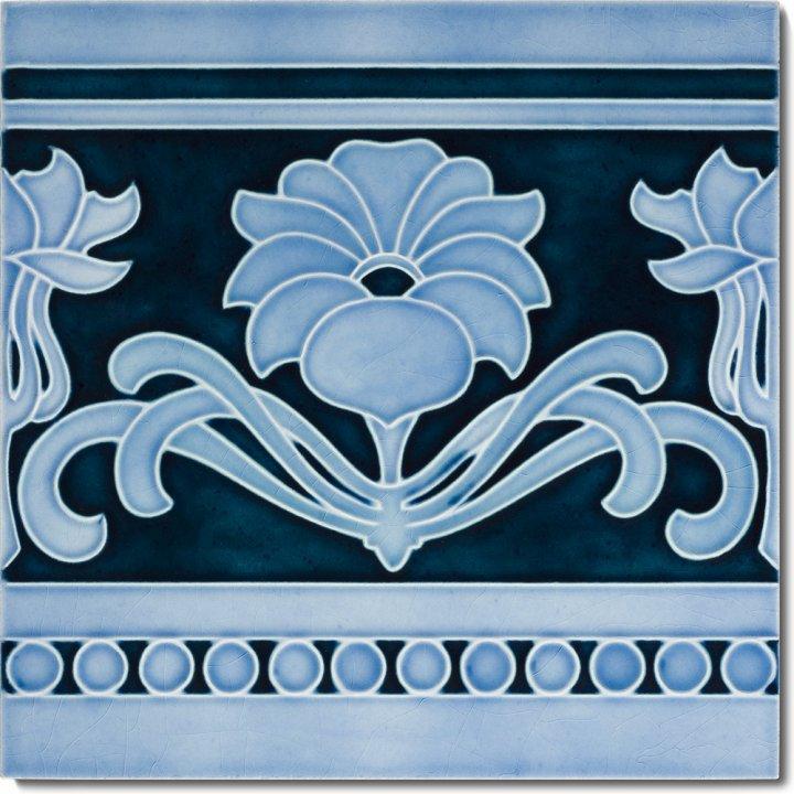 Art Nouveau tile F 70