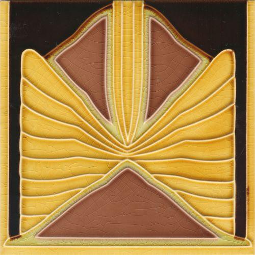 Art Nouveau tile F 114