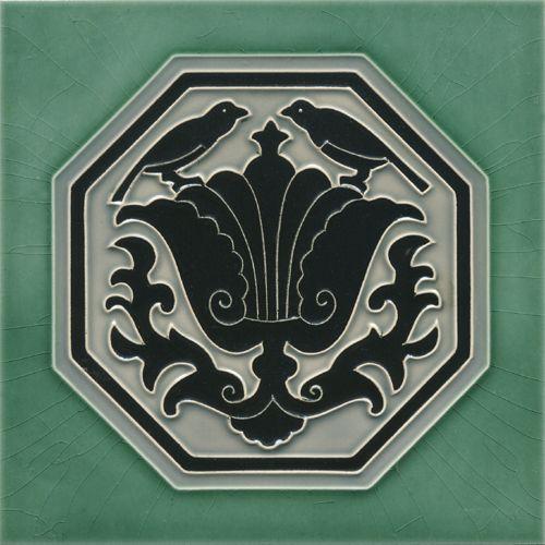 Art Nouveau tile F 133