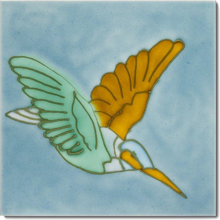 Art Nouveau tile F 46 V2