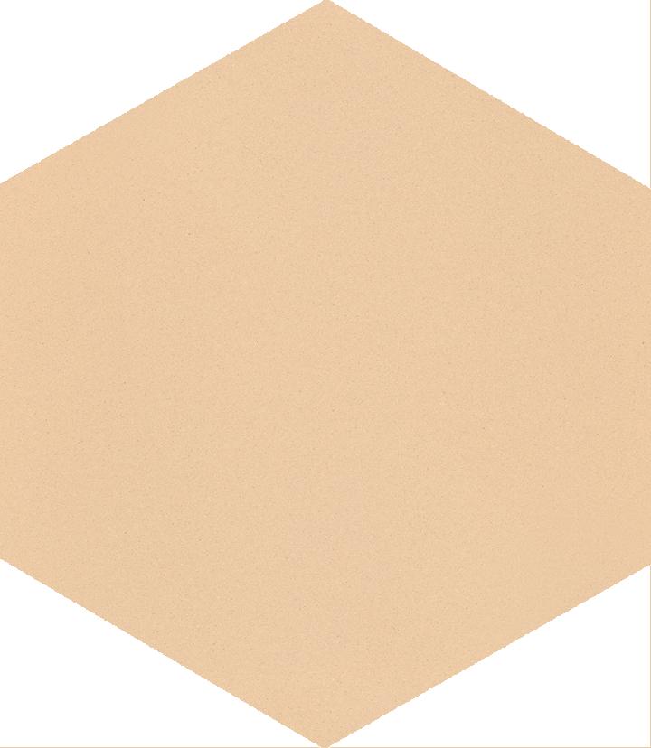 Hexagonal tile SF 17.2, hellbeige