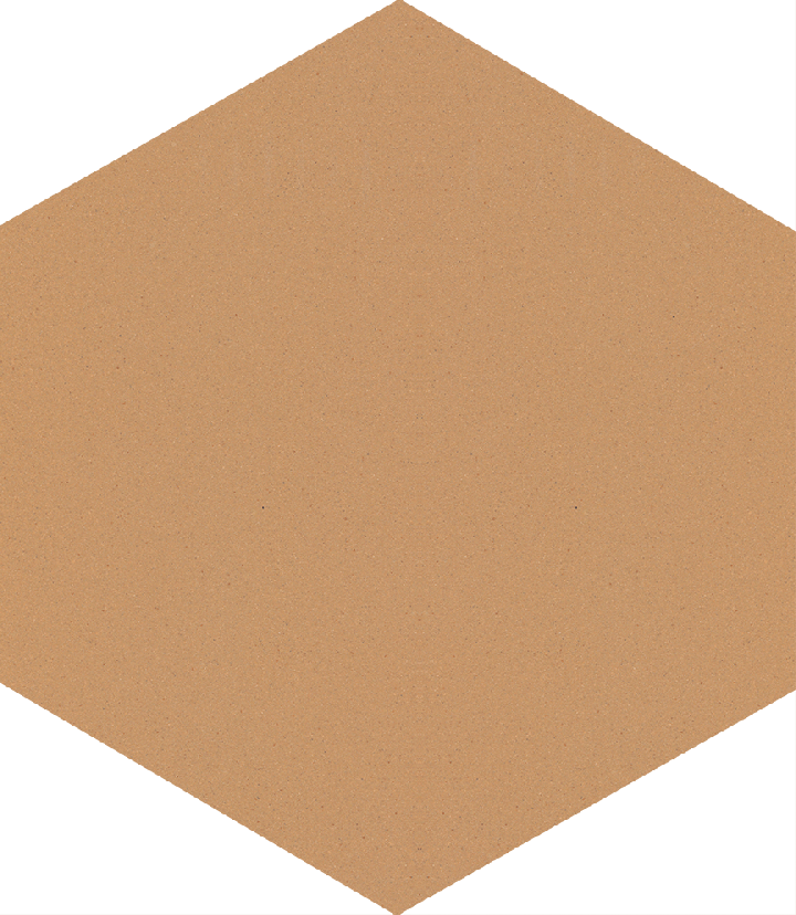 Sechseckfliese SF 17.6, grünlich beige