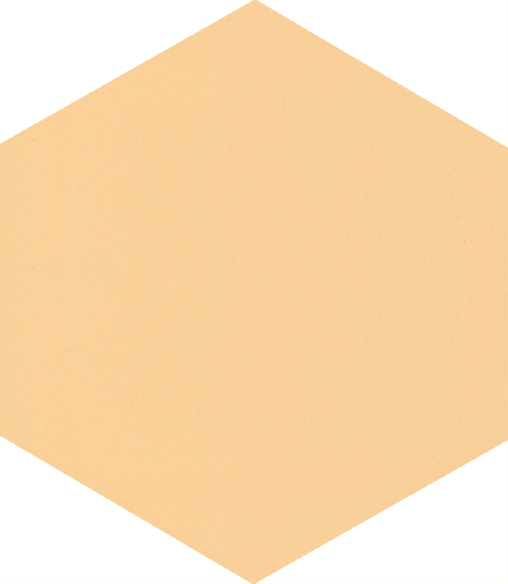 Hexagonal tile SF 17.7, beige