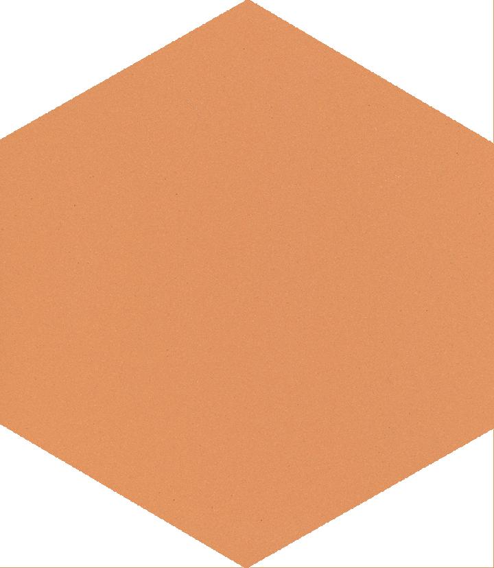 Sechseckfliese SF 17.8, rötlich beige