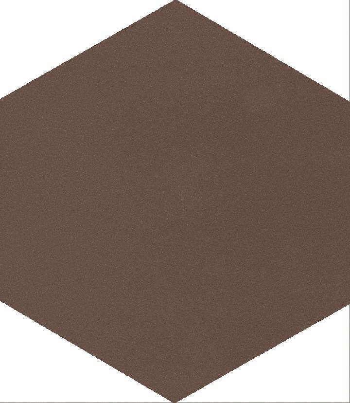 Sechseckfliese SF 17.18 S, schwarzgrau