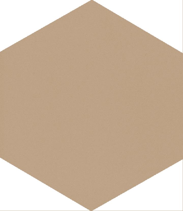 Sechseckfliese SF 17.20 S, beige dunkel