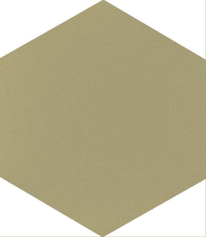 Hexagonal tile SF 17.21 S, grün warm