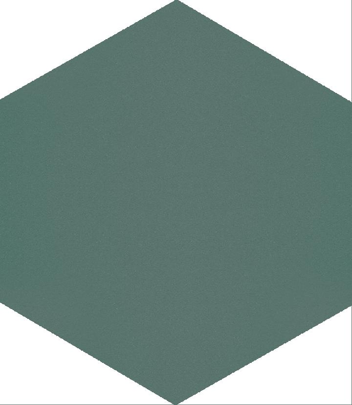 Sechseckfliese SF 17.23 S, blaugrün hell
