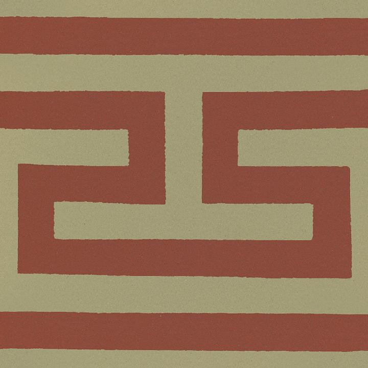 Carreau en grès SF 206 I, Ornement