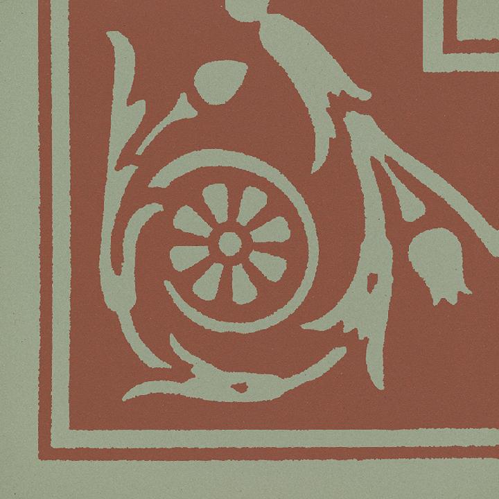 Steinzeugfliese SF 208 I e, Ornament