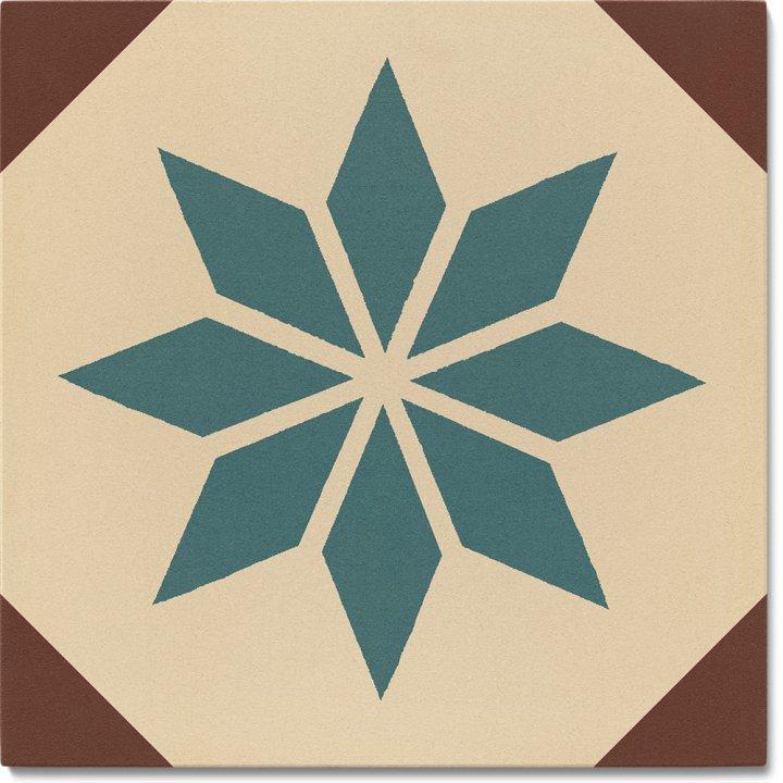 Stoneware tile SF 308 B, Historic Stoneware