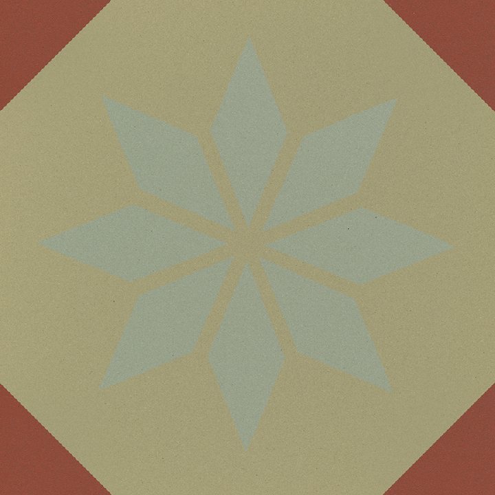 Steinzeugfliese SF 308 I, Ornament