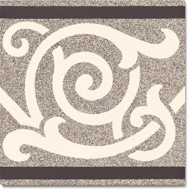 Steinzeugfliese SF 333 C, Ornament