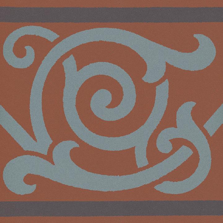 Steinzeugfliese SF 333 L, Ornament