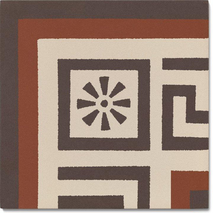 Stoneware tile SF 357 F e, Historic Stoneware