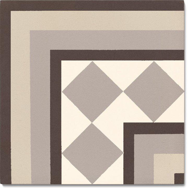 Stoneware tile SF 401 E e, Historic Stoneware