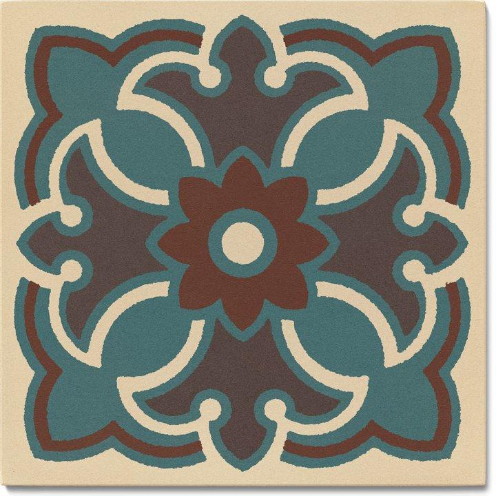 Steinzeugfliese SF 420 B, Ornament