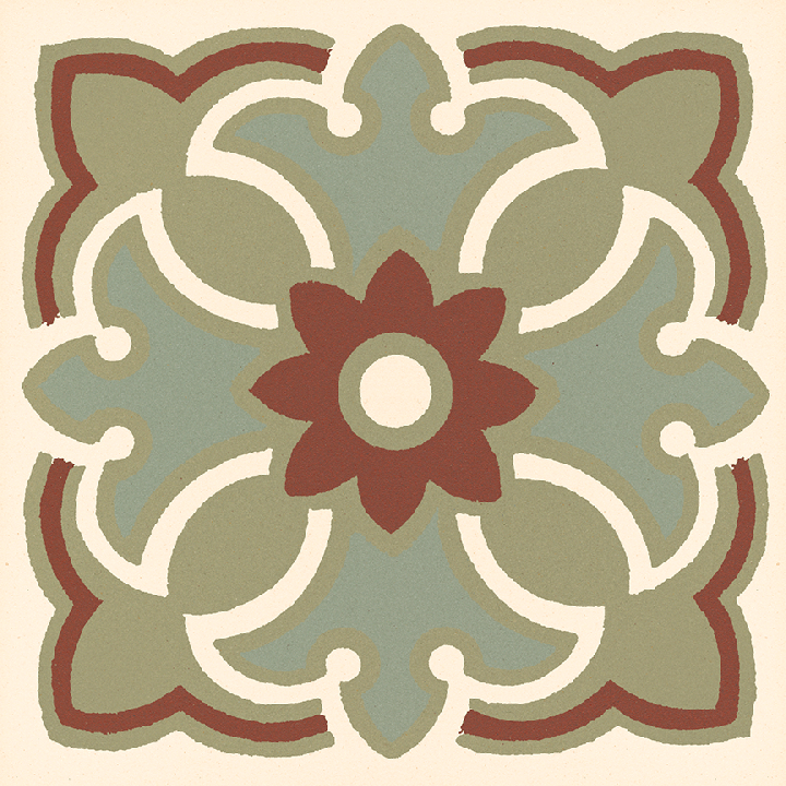 Stoneware tile SF 420 I, Historic Stoneware