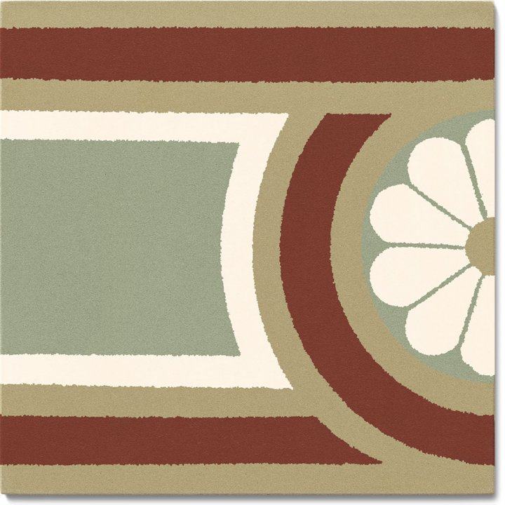 Stoneware tile SF 504 I, Historic Stoneware