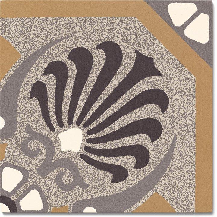 Steinzeugfliese SF 558 C, Ornament