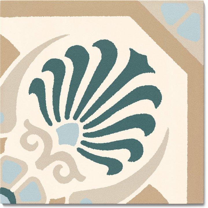 Steinzeugfliese SF 558 G, Ornament