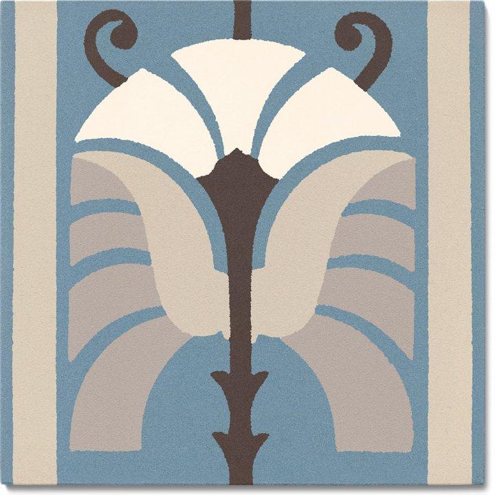 Stoneware tile SF 562 A, Historic Stoneware