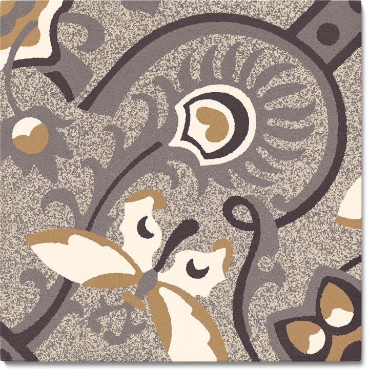 Steinzeugfliese SF 565 C, Ornament
