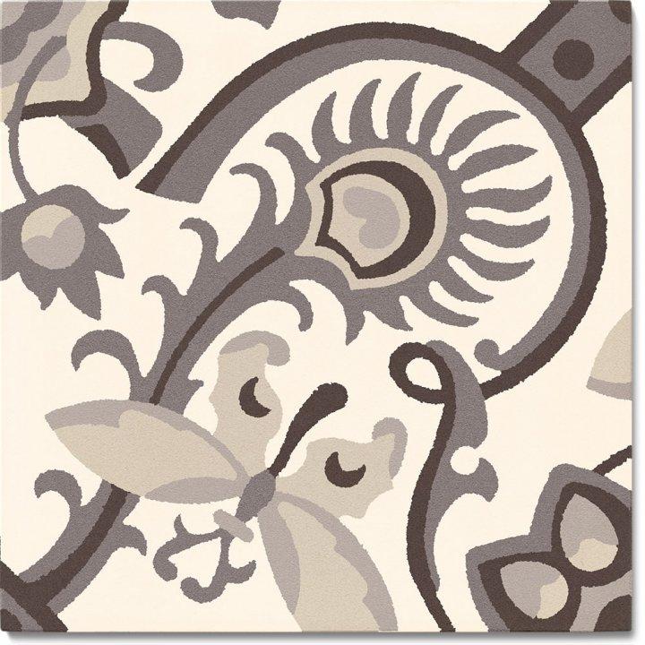 Steinzeugfliese SF 565 E, Ornament