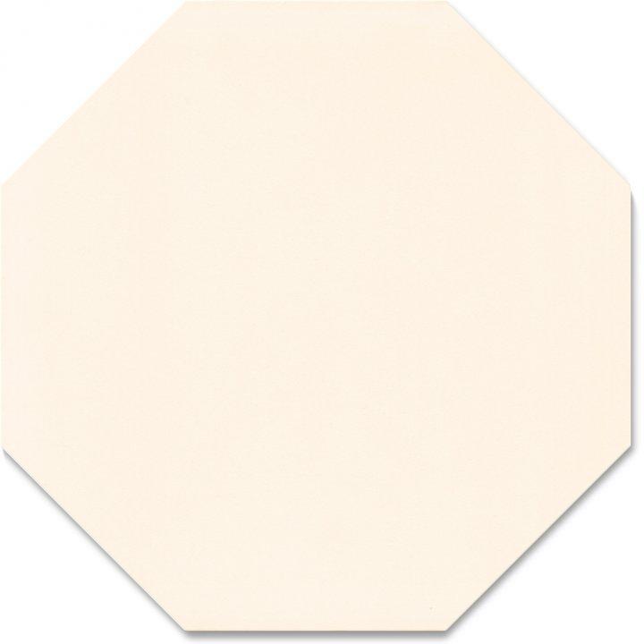 Carreau octogonal SF 80 A.1, cremeweiß