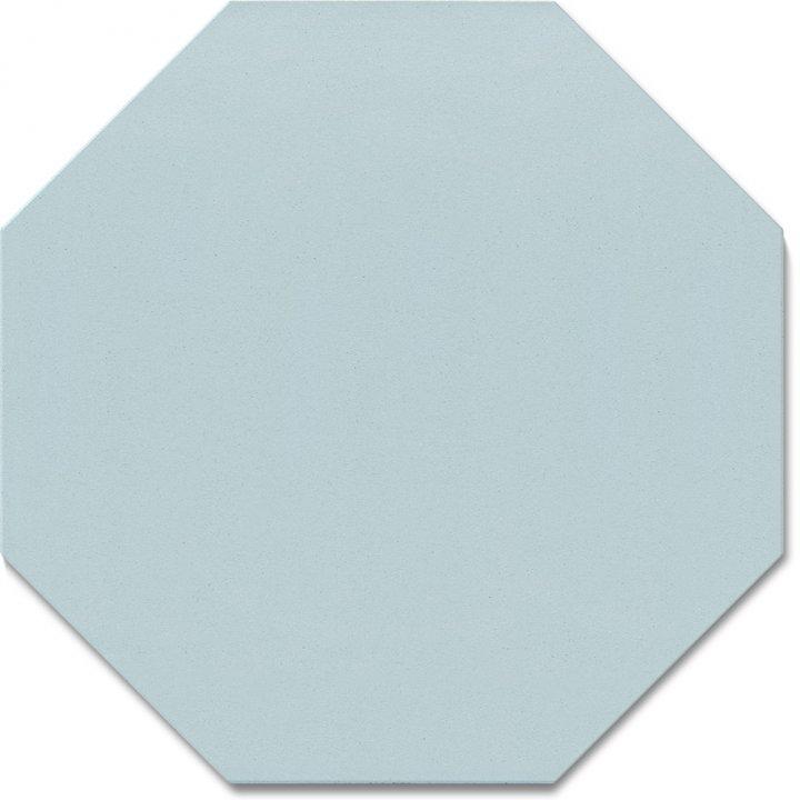 Octagonal tile SF 80 A.14, blau hell