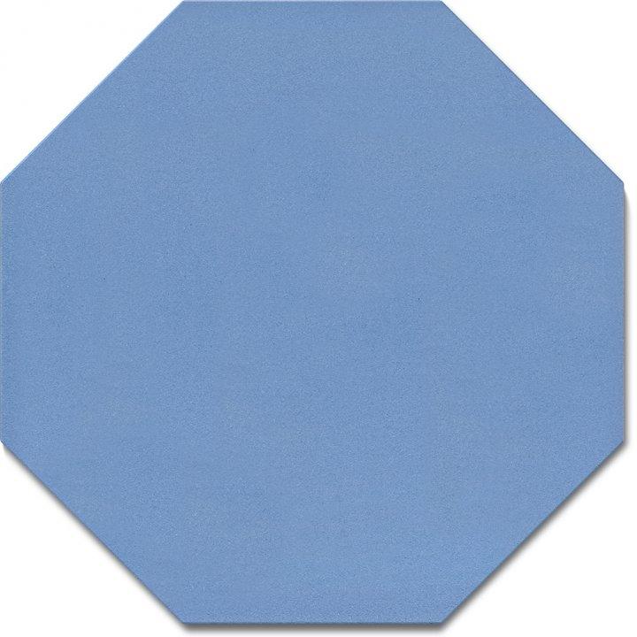 Achteckfliese SF 80 A.15, blau kräftig