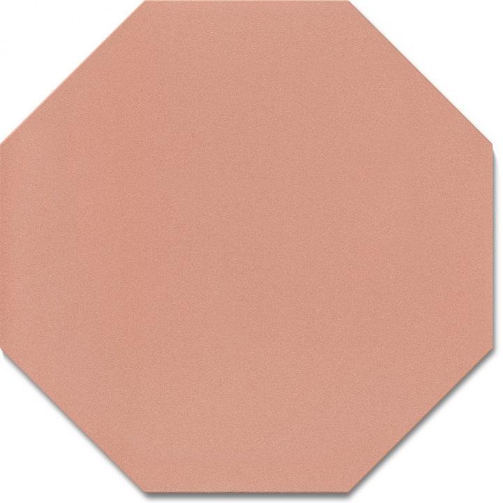 Achteckfliese SF 80 A.17, rosa gedeckt