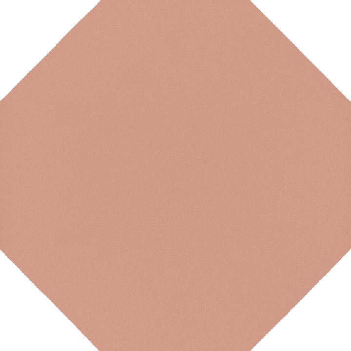 Carreau octogonal SF 80 A.17, rosa gedeckt