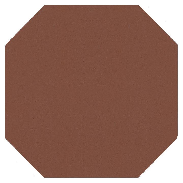 Achteckfliese SF 82 A.9, braun